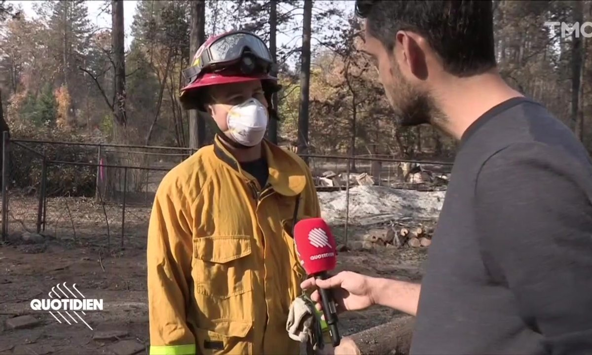 Incendies en Californie : la difficile recherche des disparus