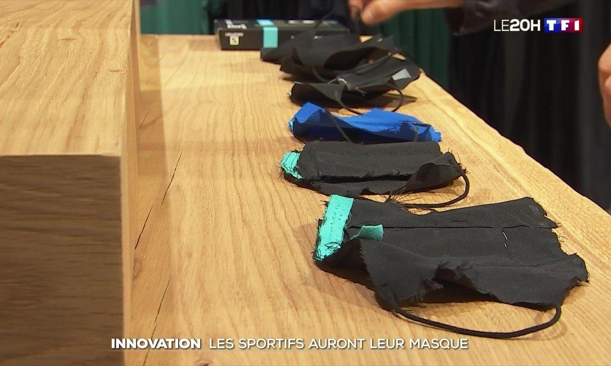 Innovation : les sportifs auront leur masque