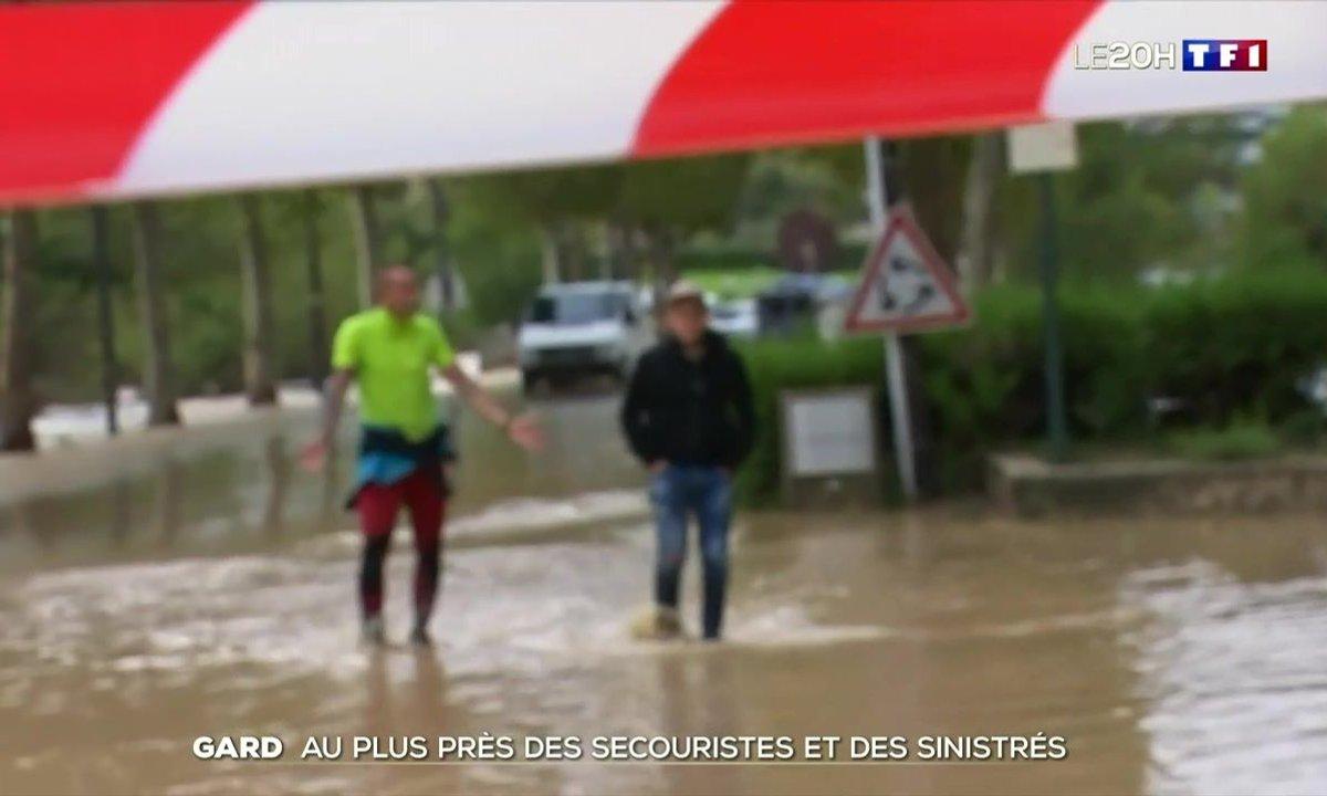 Inondations dans le Gard : au plus près des secouristes et des sinistrés
