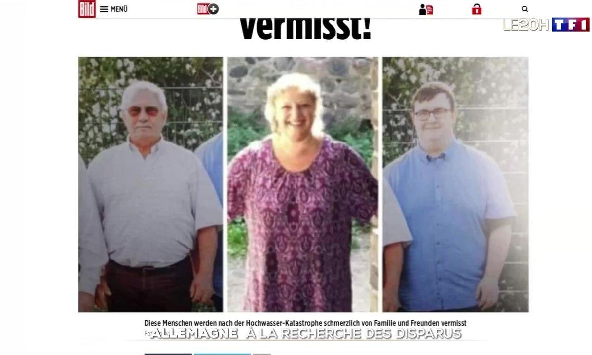 Inondations en Allemagne : à la recherche des disparus