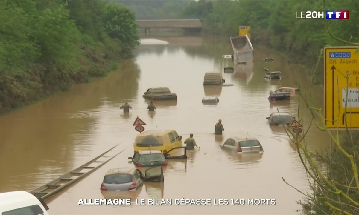 Inondations en Allemagne : le bilan dépasse les 140 morts