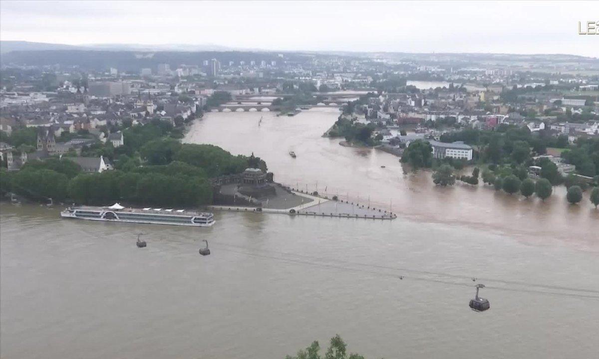 Inondations en Europe : comment expliquer la violence et l'ampleur du phénomène ?