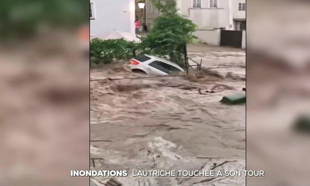 Inondations : l'Autriche touchée à son tour