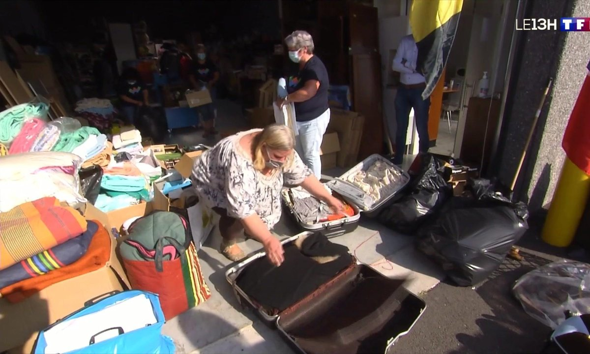 Inondations : la solidarité s'organise à la frontière franco-belge