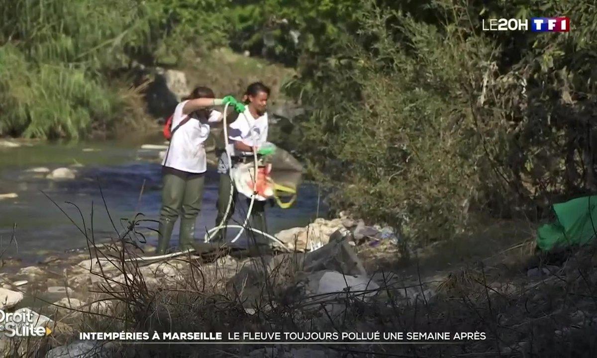 Intempéries à Marseille : le fleuve de l'Huveaune toujours pollué une semaine après