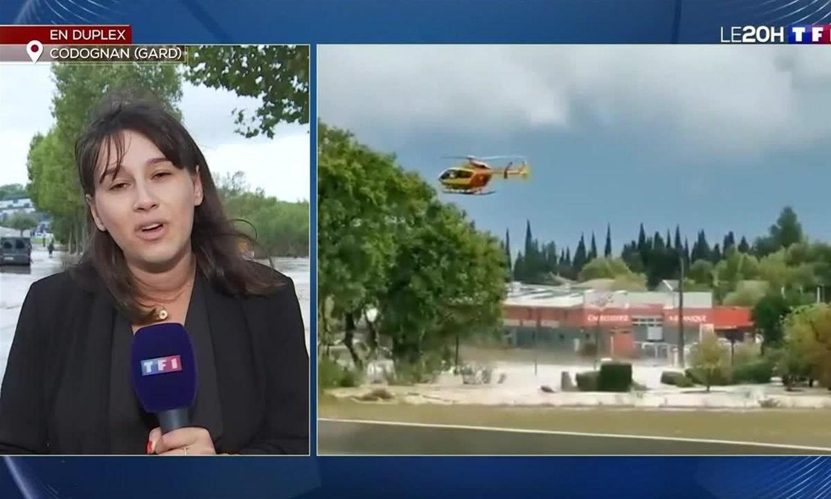 Intempéries dans le Gard : les deux personnes recherchées ont été retrouvées