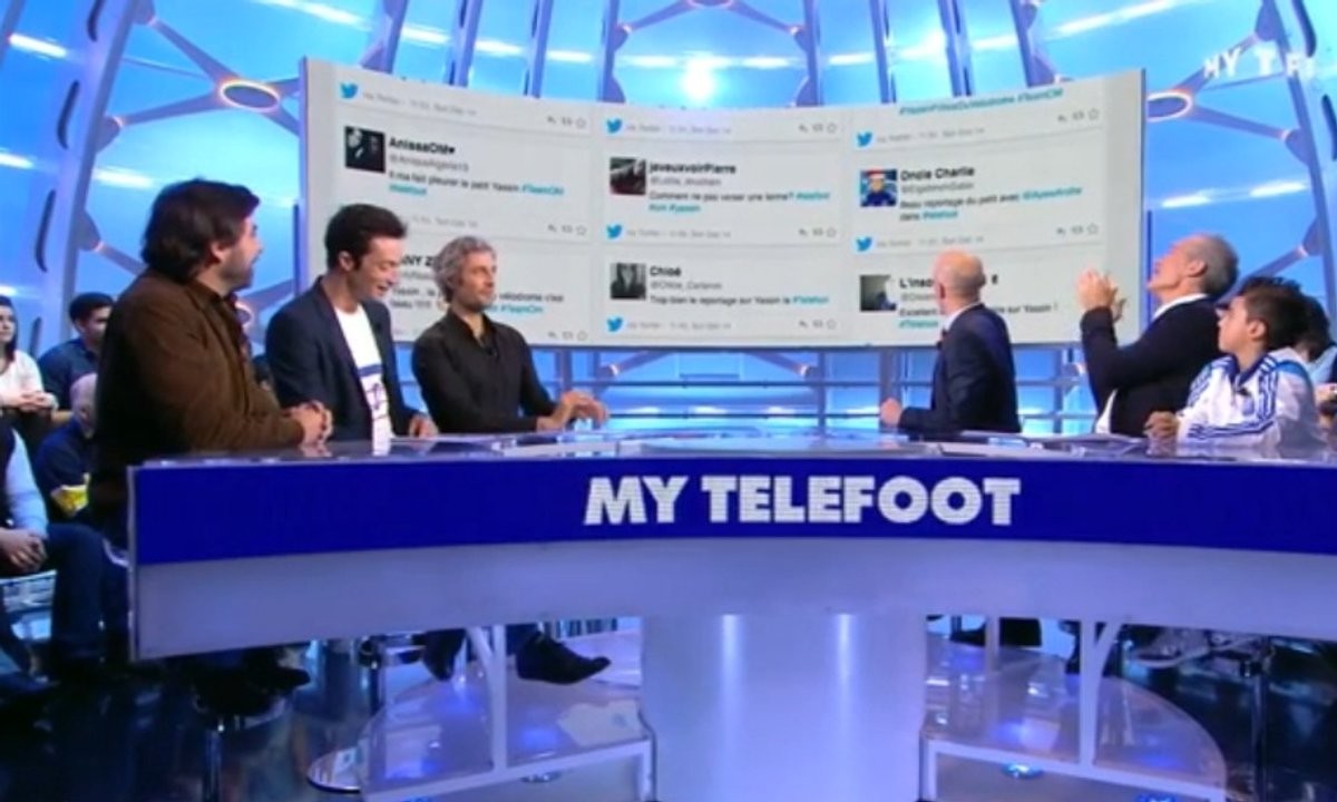 MyTELEFOOT - Interactions : ils craquent tous pour Yassin !