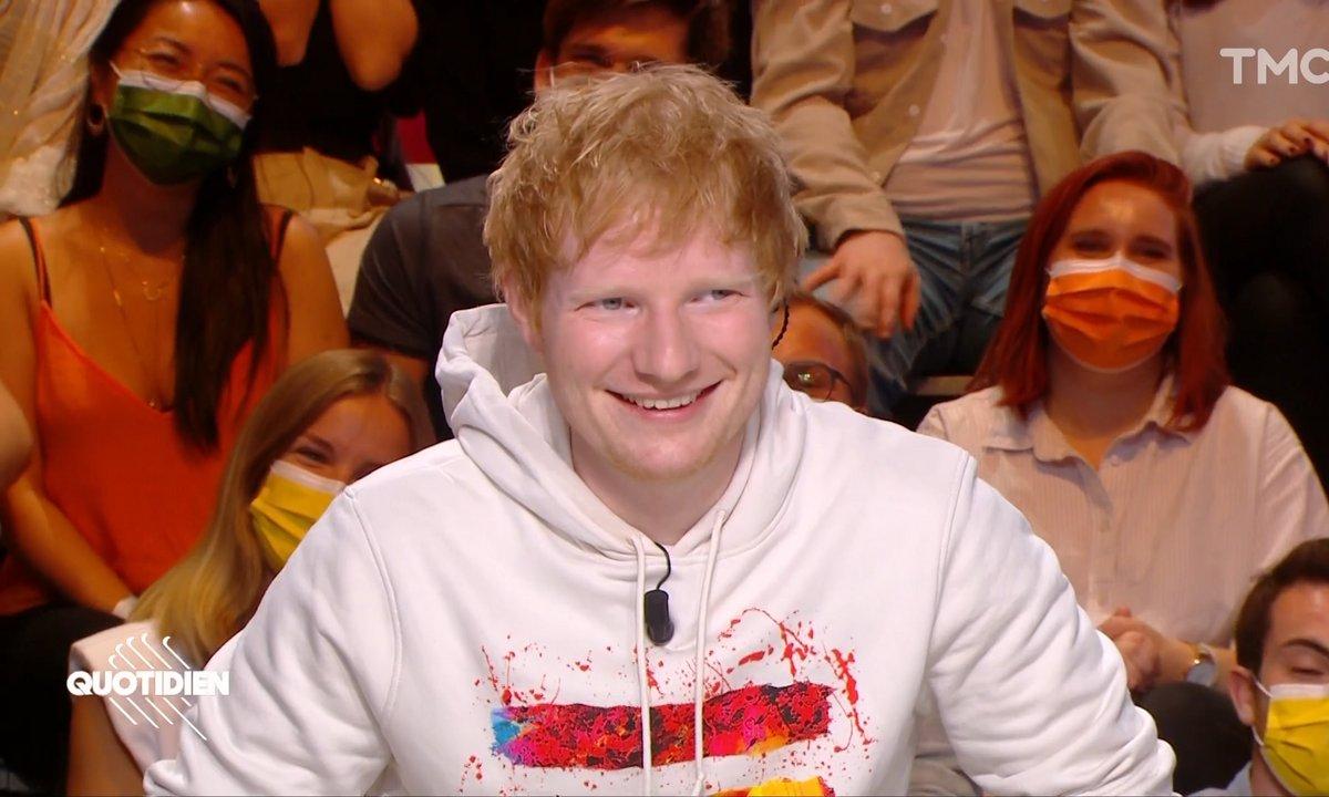 Invité : Ed Sheeran est de retour dans Quotidien !