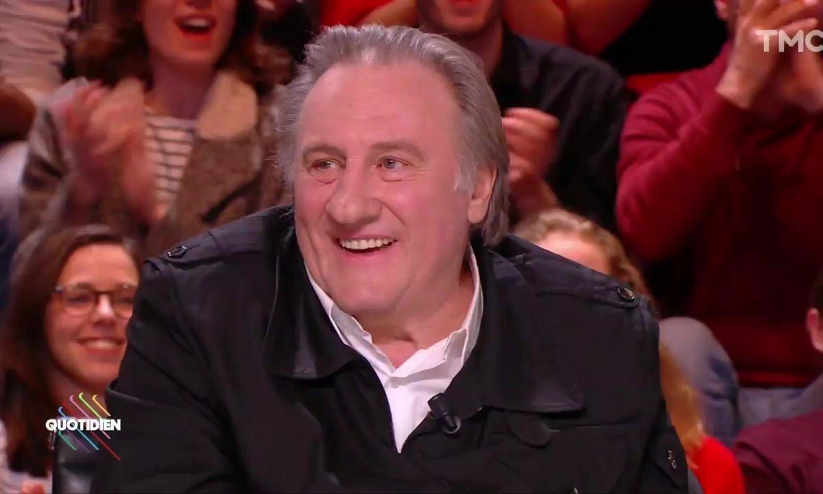 Invité : Gérard Depardieu, un monument dans Quotidien