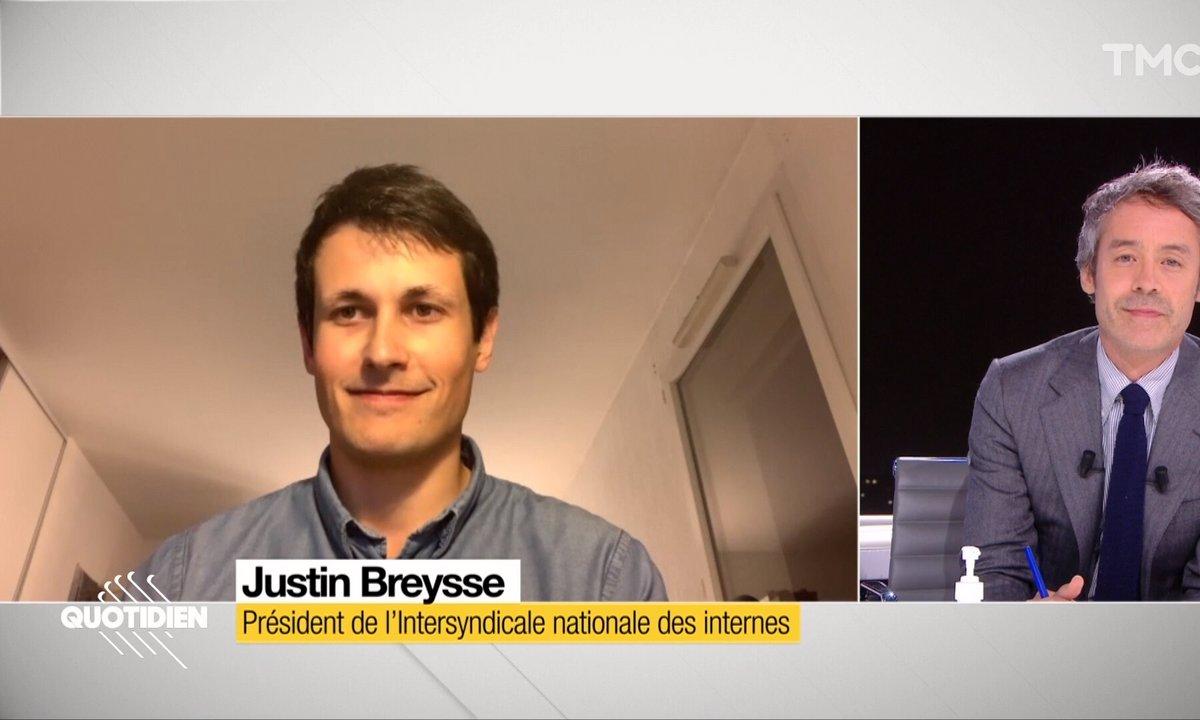 Invité : Justin Breysse, président de l'Intersyndicale nationale des internes