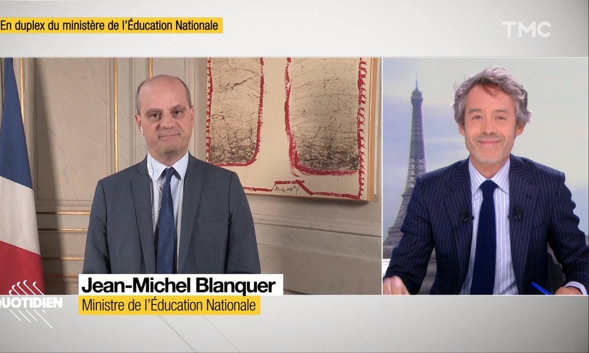 Invité : le ministre de l'Education, Jean-Michel Blanquer