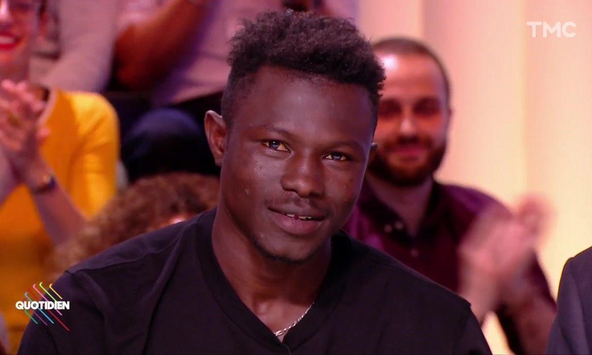Invité : Mamoudou Gassama, le héros devenu français