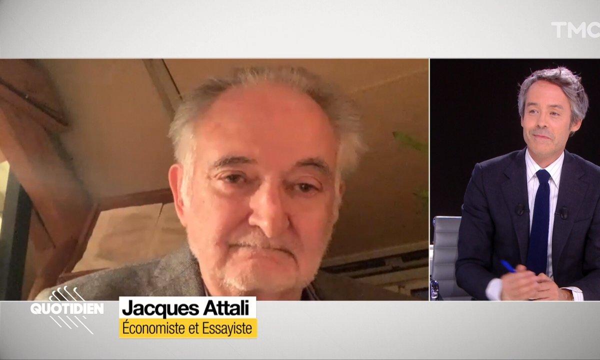 """Invité : on imagine le monde """"d'après"""" avec Jacques Attali"""