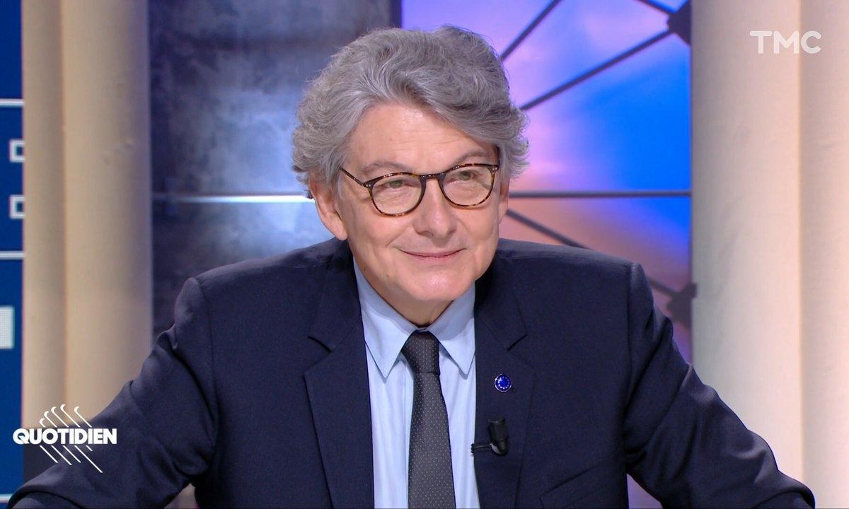 Invité: Thierry Breton, le commissaire européen qui veut s'attaquer aux GAFAM