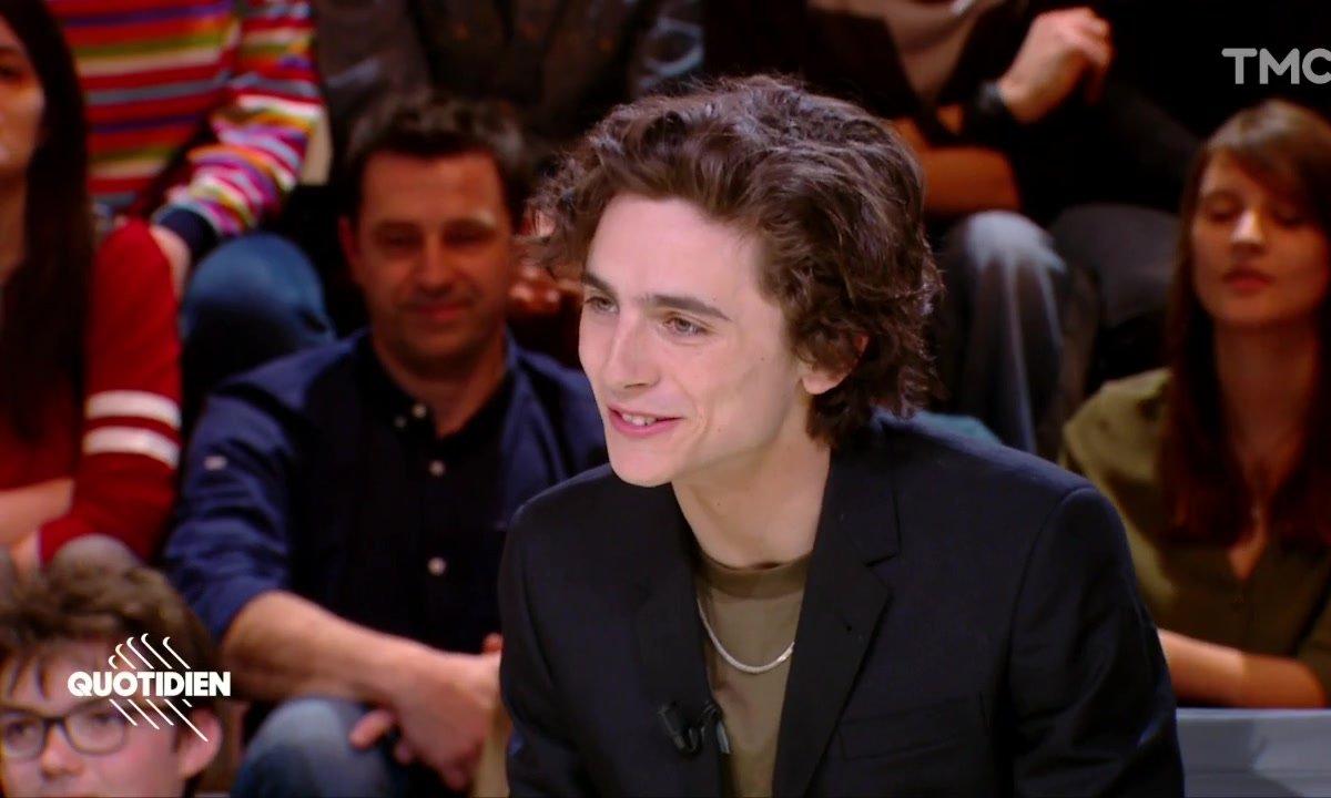 Invité : Timothée Chalamet, pour «My Beautiful Boy »
