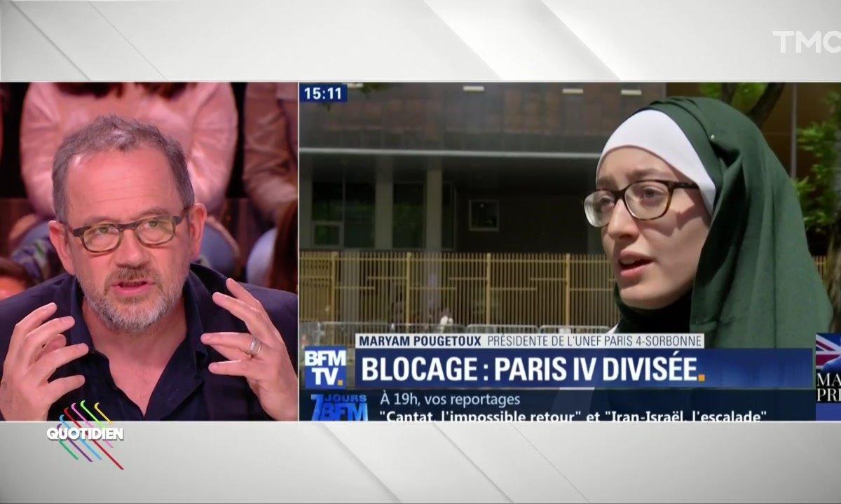 Invité : le voile de l'UNEF qui divise la majorité, avec Thomas Legrand