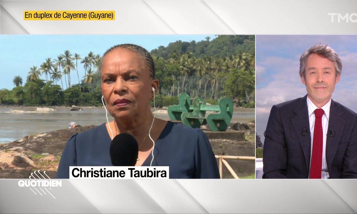 Invitée : Christiane Taubira, le mot juste