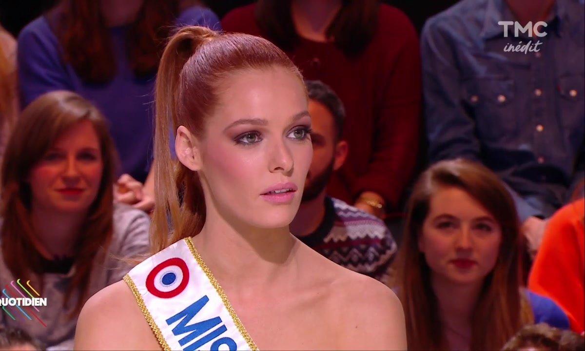 Miss France tacle Geneviève de Fontenay