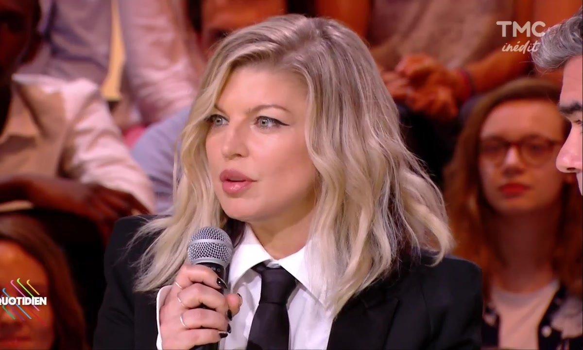 Invitée : Fergie, la méga star de la pop en plateau
