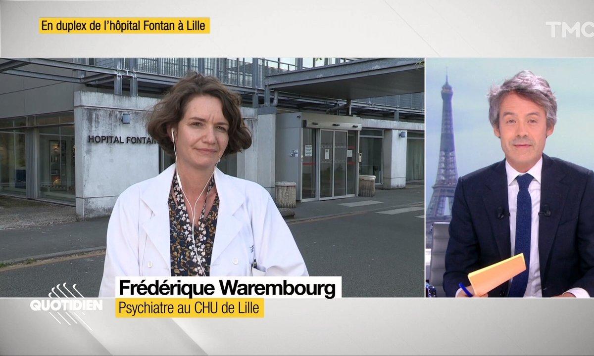 Invitée : on prend des nouvelles des soignants avec la psychiatre Frédérique Warembourg