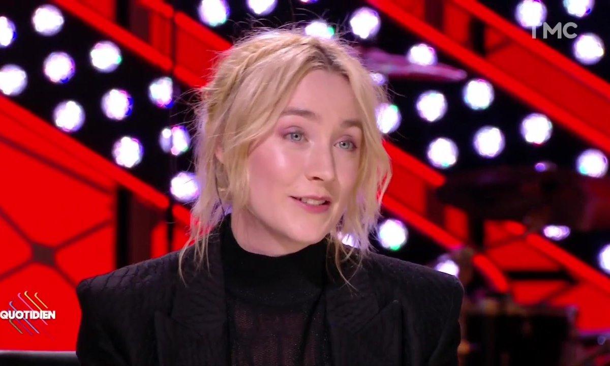 "Invitée : Saoirse Ronan est ""Ladybird"""