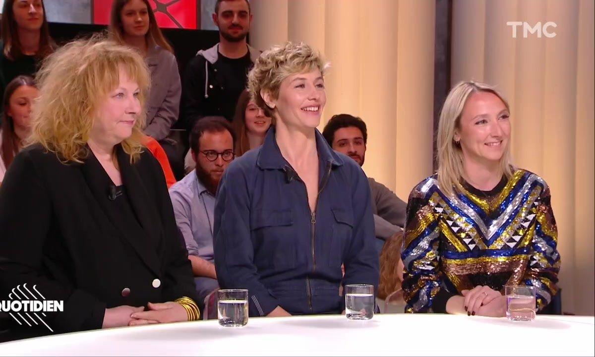 """Invitées : Audrey Lamy, Cécile de France et Yolande Moreau pour """"Rebelles"""""""