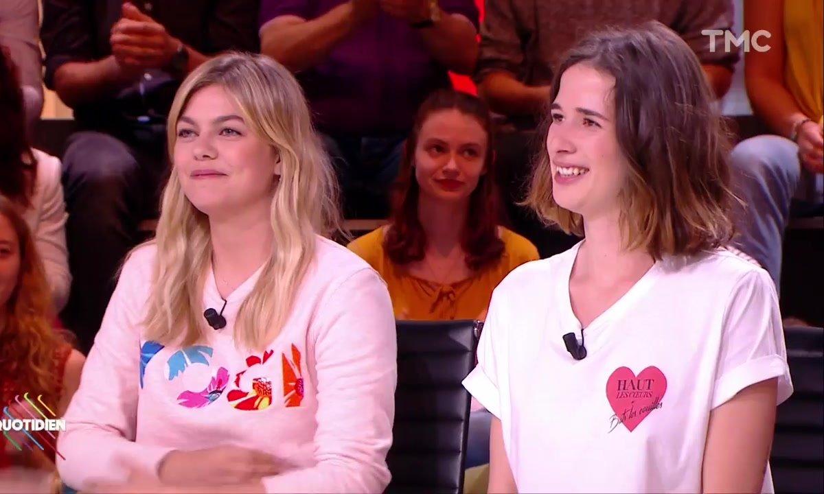 """Invitées : Louane Emera et Léa Fredeval pour """"Les Affamés"""""""
