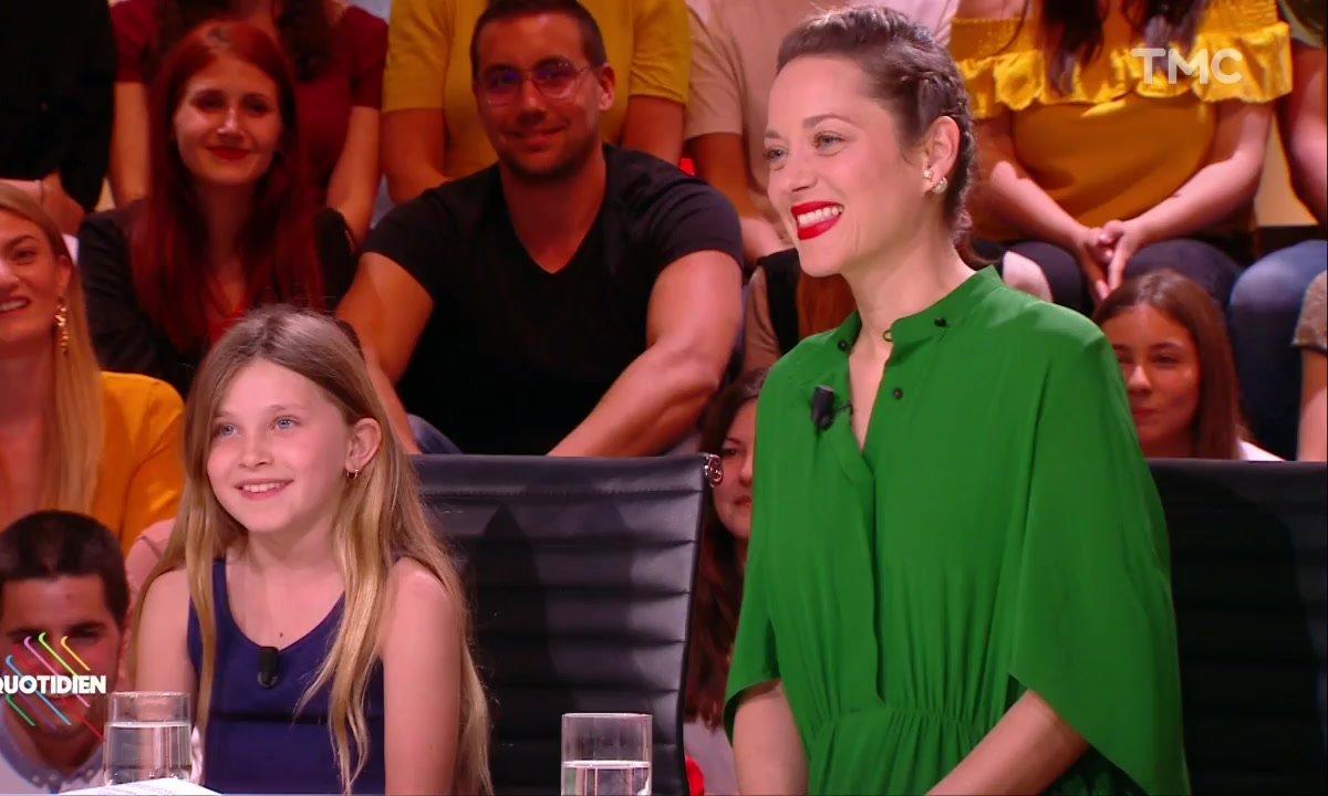 """Invitées : Marion Cotillard et Ayline Aksoy-Etaix pour """"Gueule d'ange"""""""