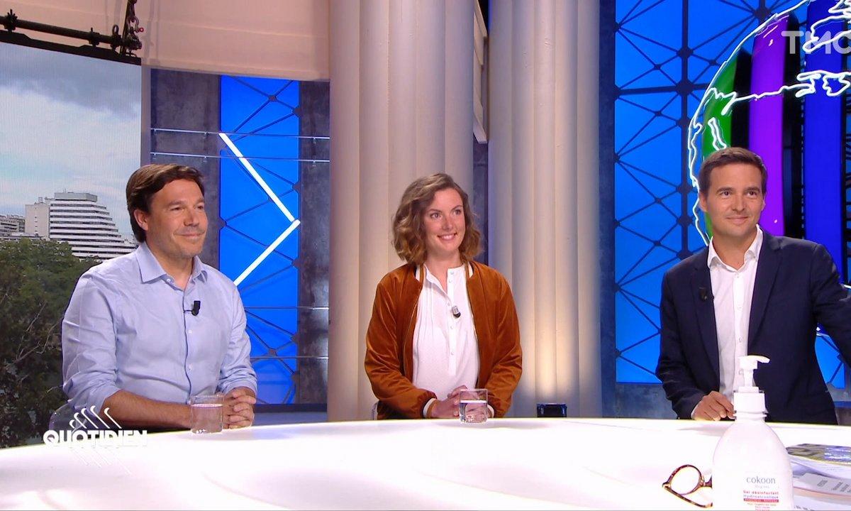 Invités : après le coronavirus, la politique reprend ses droits, on en parle avec Yaël Goosz (France Inter), Astrid de Villaines (HuffPost) et Adrien Gindre (TF1)