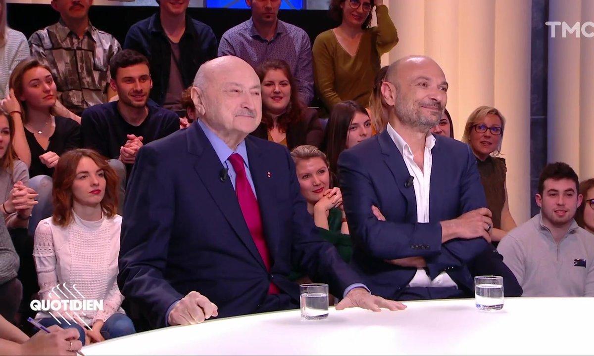 """Invités : les avocats Georges Kiejman et Richard Malka, publient """"Eloge de l'irrévérence"""", 12 ans après le procès des caricatures de Charlie Hebdo"""