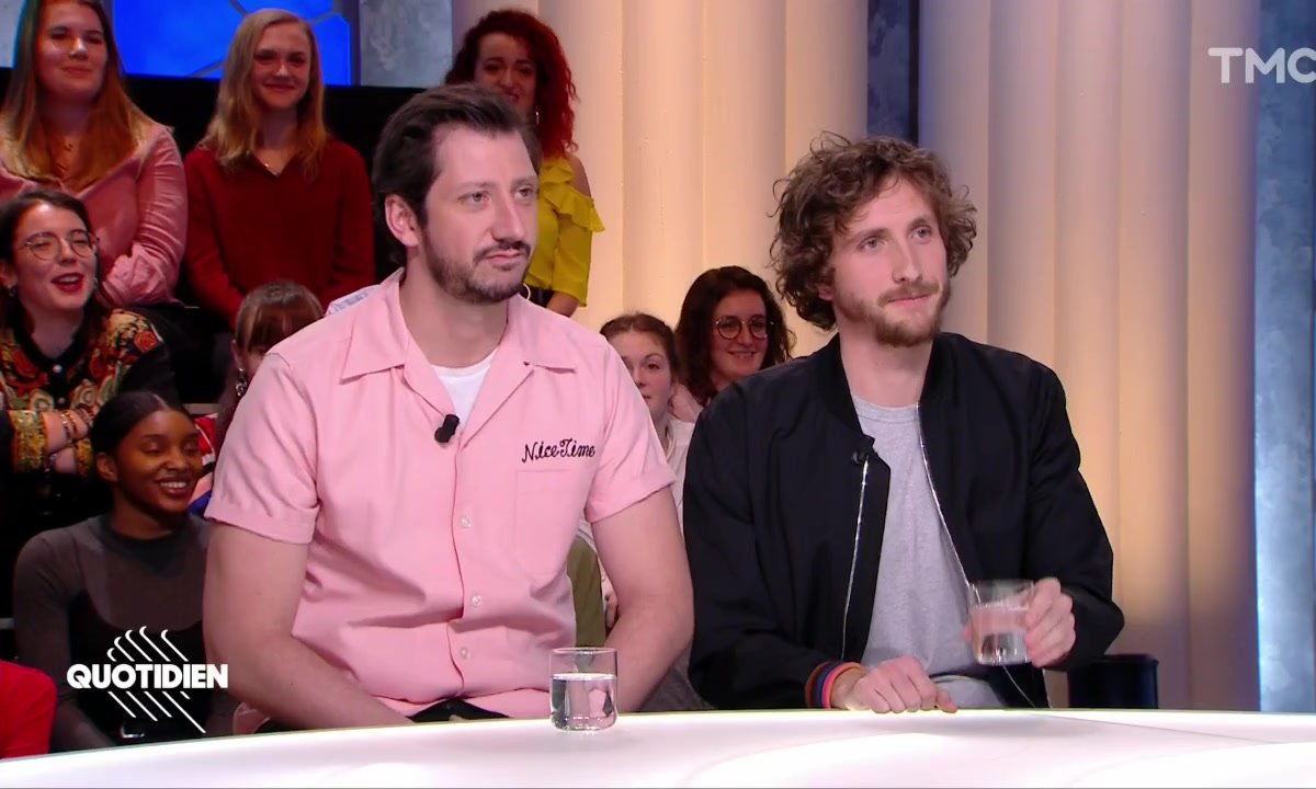 Invités : Baptiste Lecaplain et Monsieur Poulpe pour le Festival d'humour de Paris