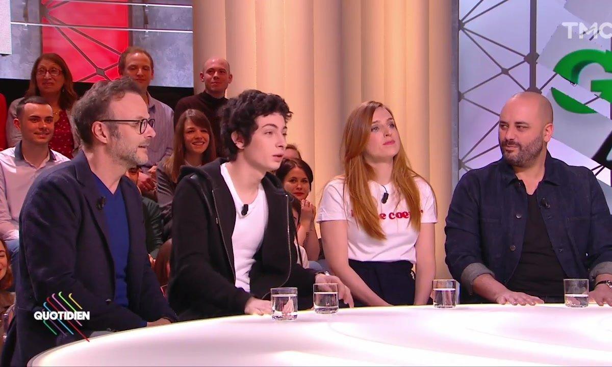 """Invités : le casting de """"Gaston Lagaffe"""" avec PEF, Théo Fernandez, Jérôme Commandeur et Alison Wheeler"""