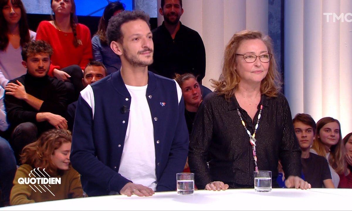 """Invités : Catherine Frot et Vincent Dedienne pour """"La carpe et le lapin"""", le projet le plus secret de l'année"""