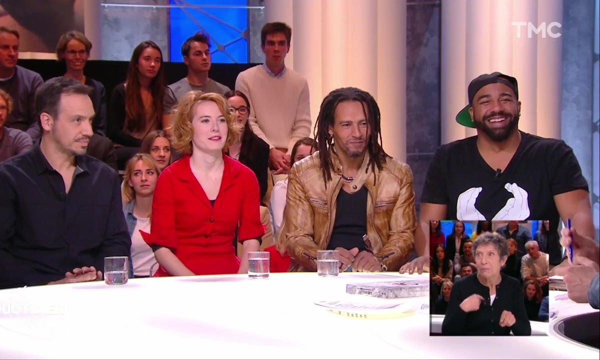 Invités : les Chansigneurs Clémence Colin, Adama Sayad et Sébastien Barty