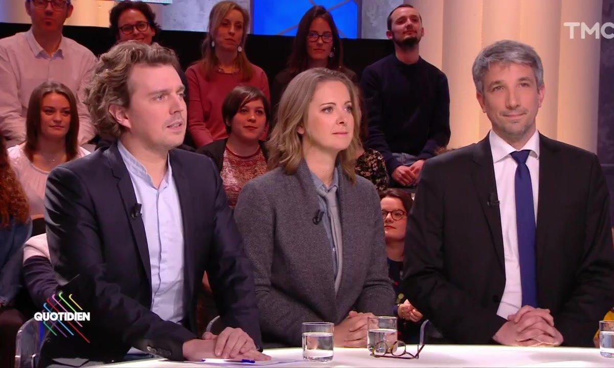 Invités : Charline Vanhoenacker, Alex Vizorek et Guillaume Meurice, candidats à la présidence de radio France