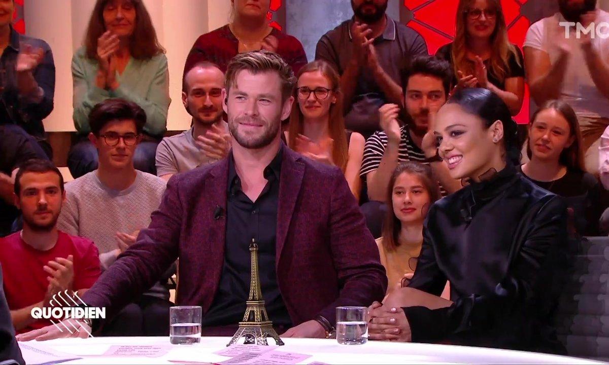 """Invités : Chris Hemsworth et Tessa Thompson sont les nouveaux """"Men in Black International"""""""