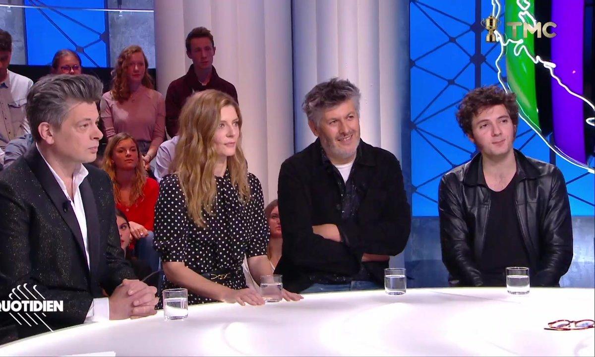 """Invités : Christophe Honoré, Chiara Mastroianni, Benjamin Biolay et Vincent Lacoste pour """"Chambre 212"""""""