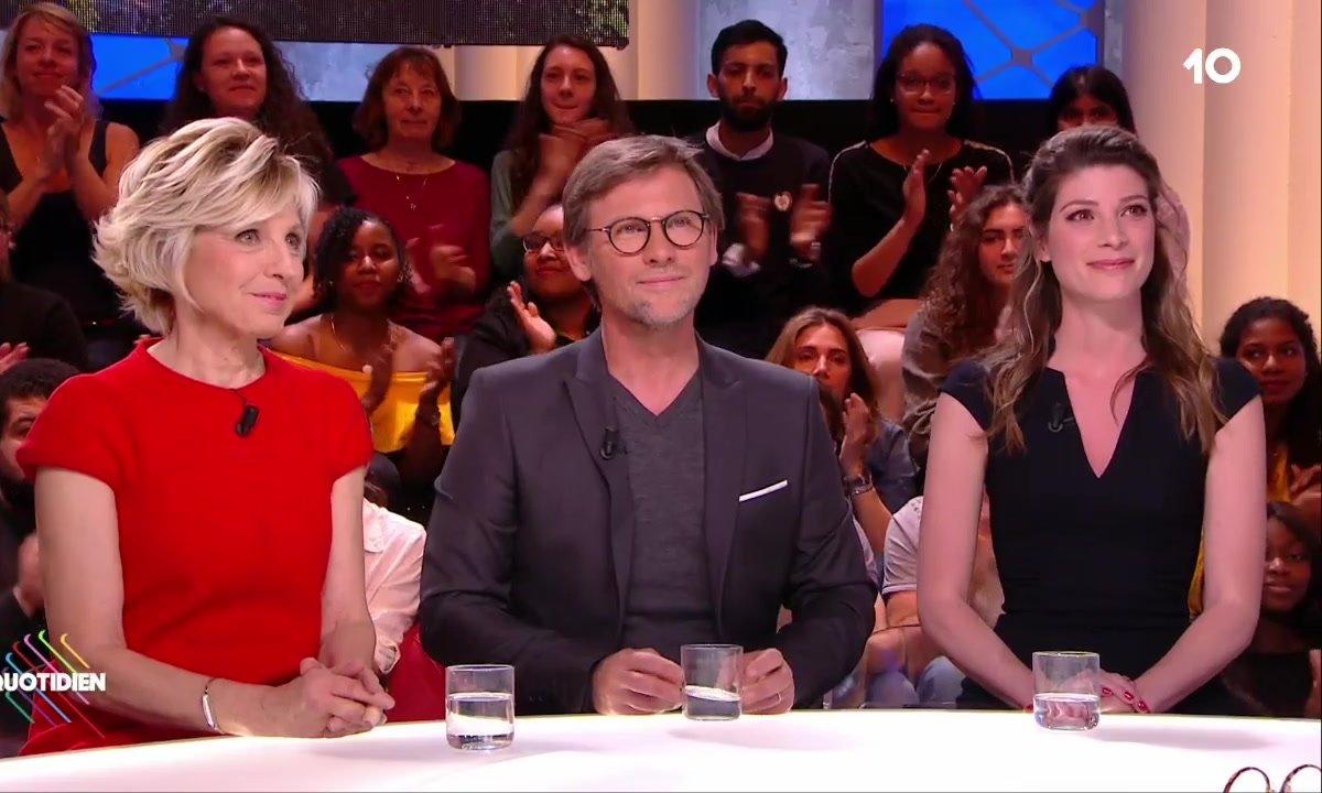 Invités : Evelyne Dhéliat, Laurent Romejko et Chloé Nabédian