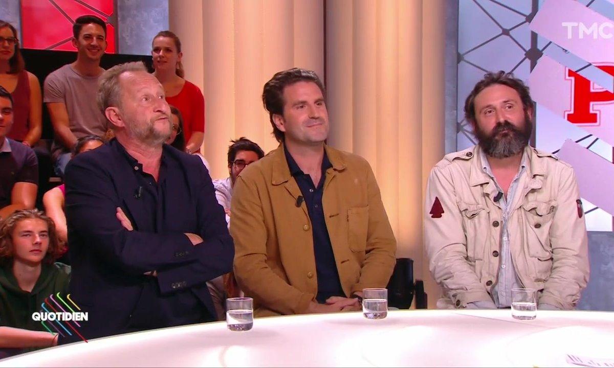 """Invités : Grégoire Ludig, Benoît Poelvoorde et Quentin Dupieux pour """"Au poste !"""""""