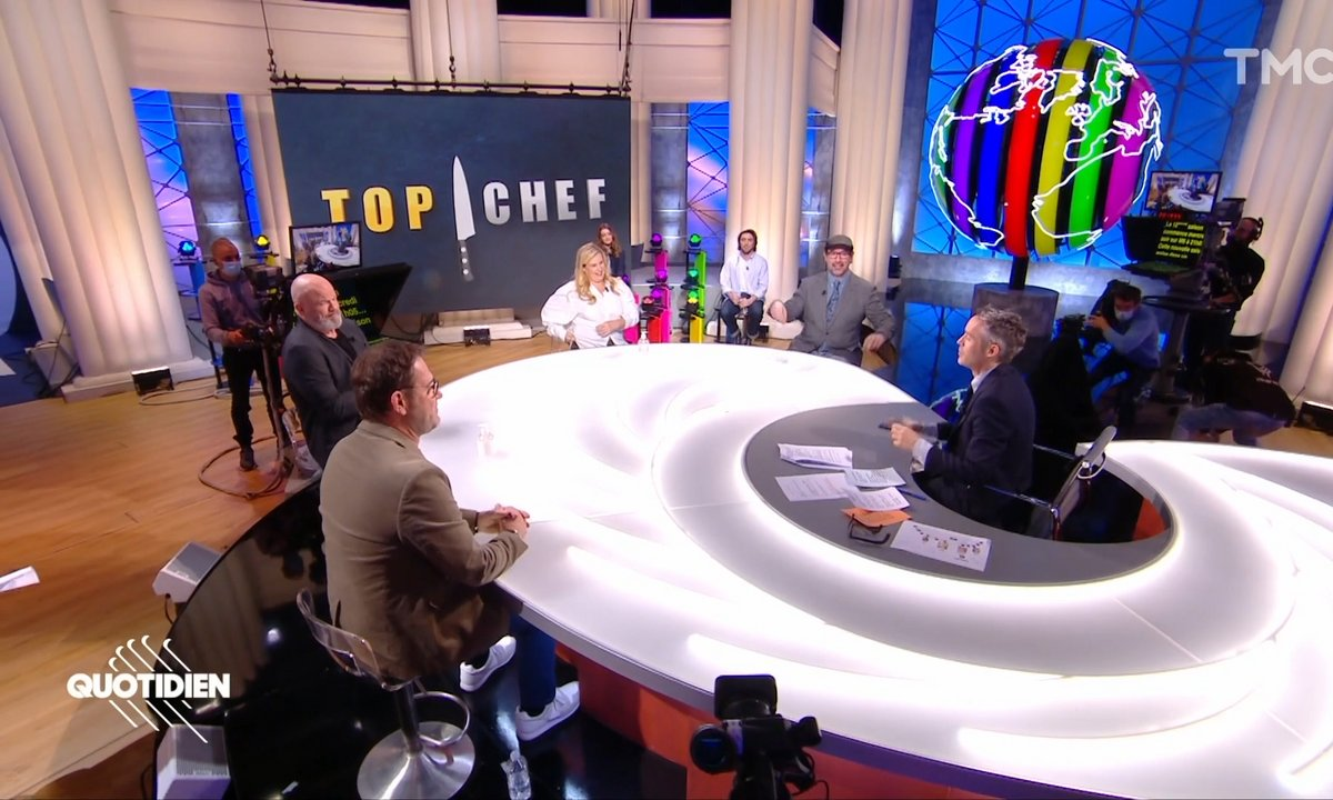 Invités: Hélène Darroze, Paul Pairet, Philippe Etchebest et Michel Sarran lancent la 12ème saison de Top Chef