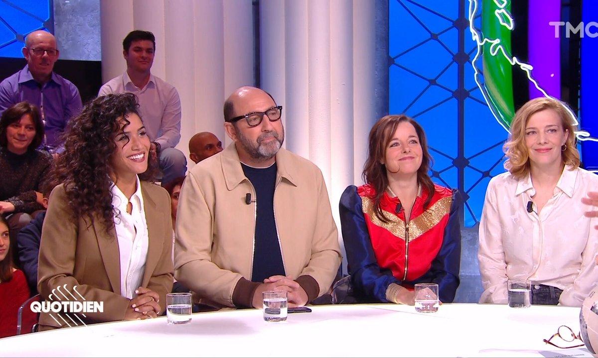 """Invités : Kad Merad, Céline Sallette, Laure Calamy et Sabrina Ouazani pour """"Une belle équipe"""""""