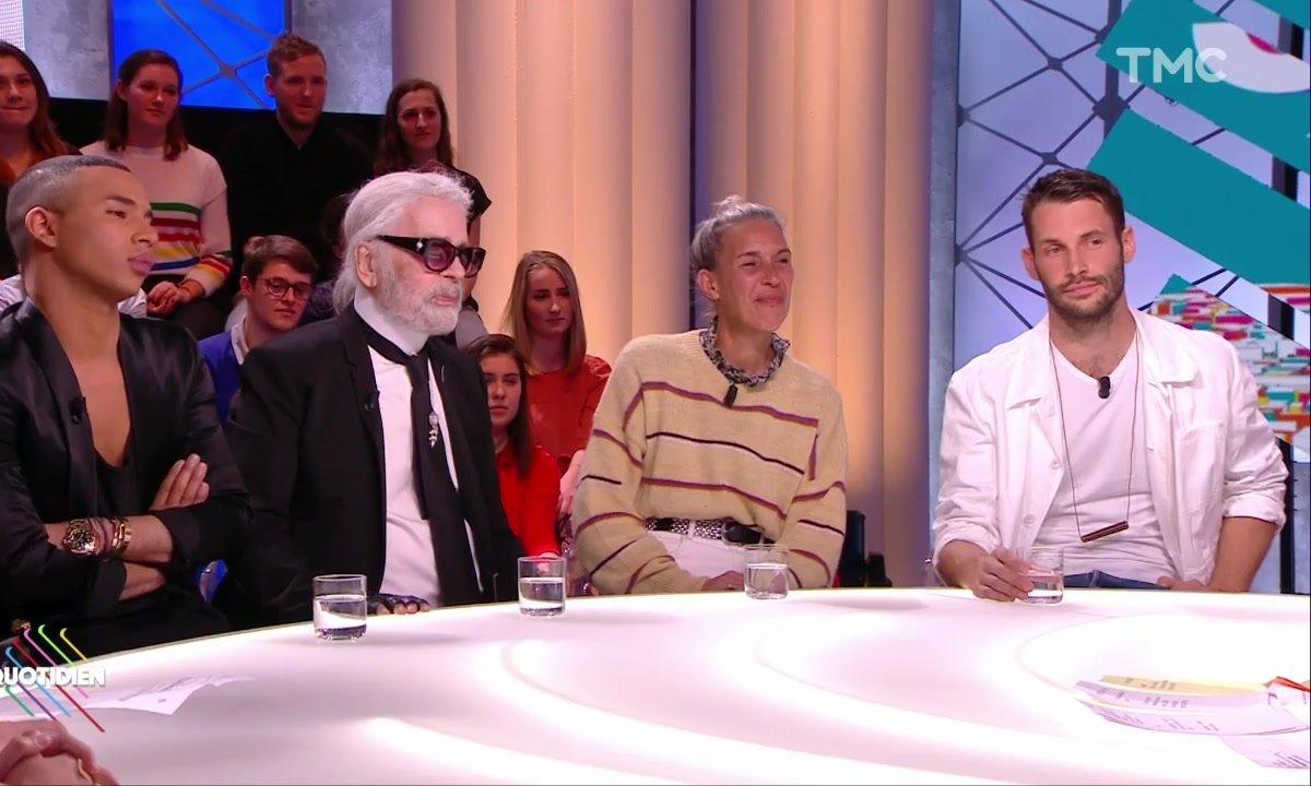 Invités : Karl Lagerfeld, Isabel Marant, Olivier Rousteing, Simon Porte Jacquemus et Loïc Prigent