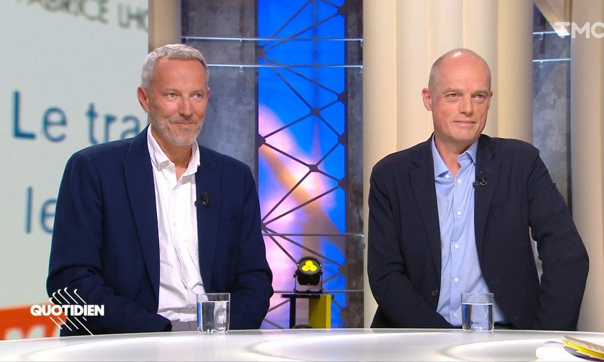 """Invités : """"Le traître et le néant"""", le nouveau livre choc de Gérard Davet et Fabrice Lhomme sur Emmanuel Macron"""