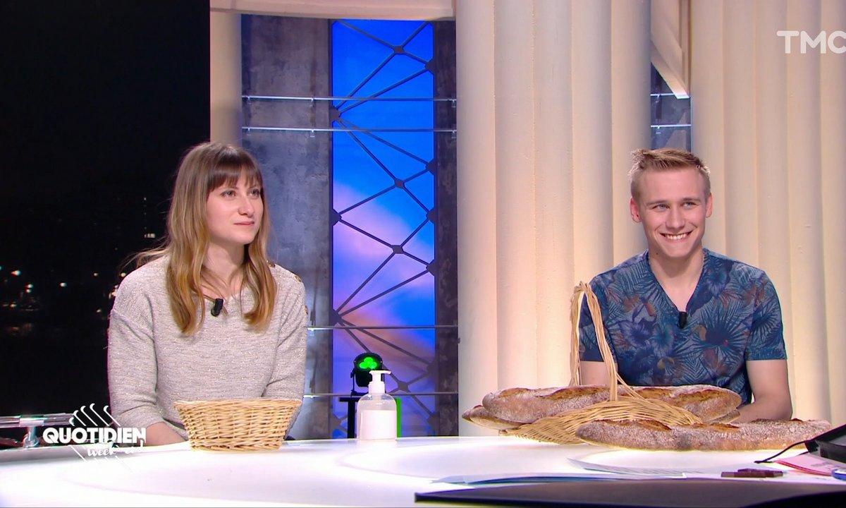 Invités: Léa Chauveau et Alexandre Cousin, les boulangers stars de France 2