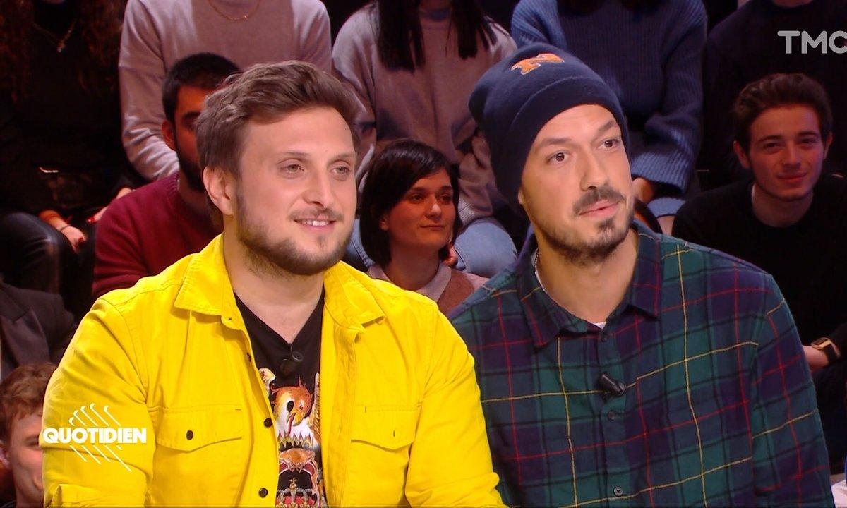 """Invités : McFly et Carlito sortent """"Bonsoir !"""" leur premier jeu de société"""