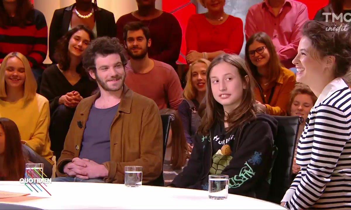 "Invités : Mélanie Bernier, Felix Moati et Nils Othenin-Girard pour ""Simon & Theodore"""