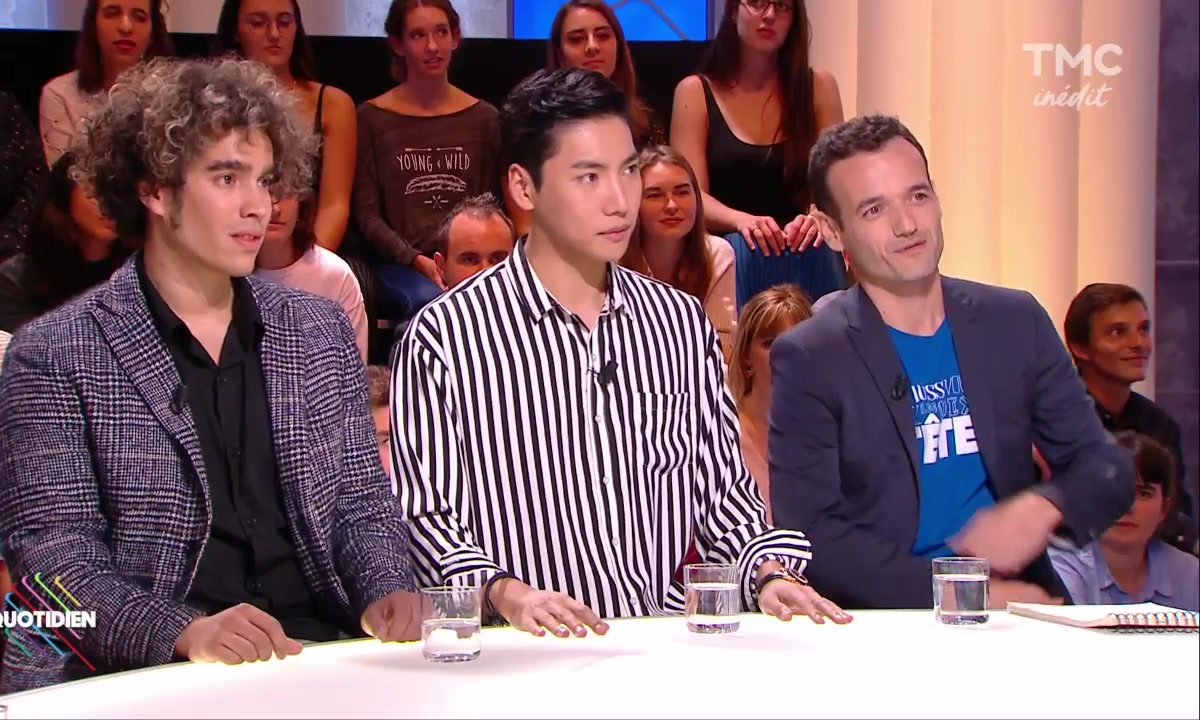 Invités : Moulla, Fabien Olicard et Yu Ho-Jin, les rois de la magie