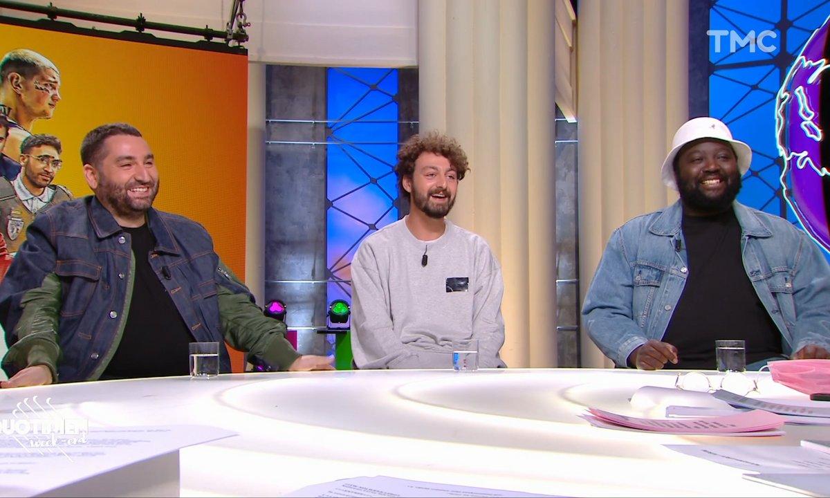 Invités : Mouloud Achour, Roman Frayssinet et Djimo jouent « Les Méchants »