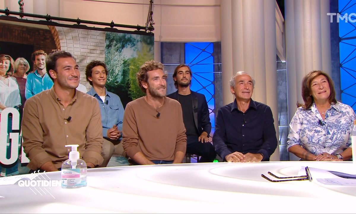 """Invités : Olivier, Sandrine, Martin, Valentin, Louis et Raphaël de """"L'Agence"""", la nouvelle série de TMC"""