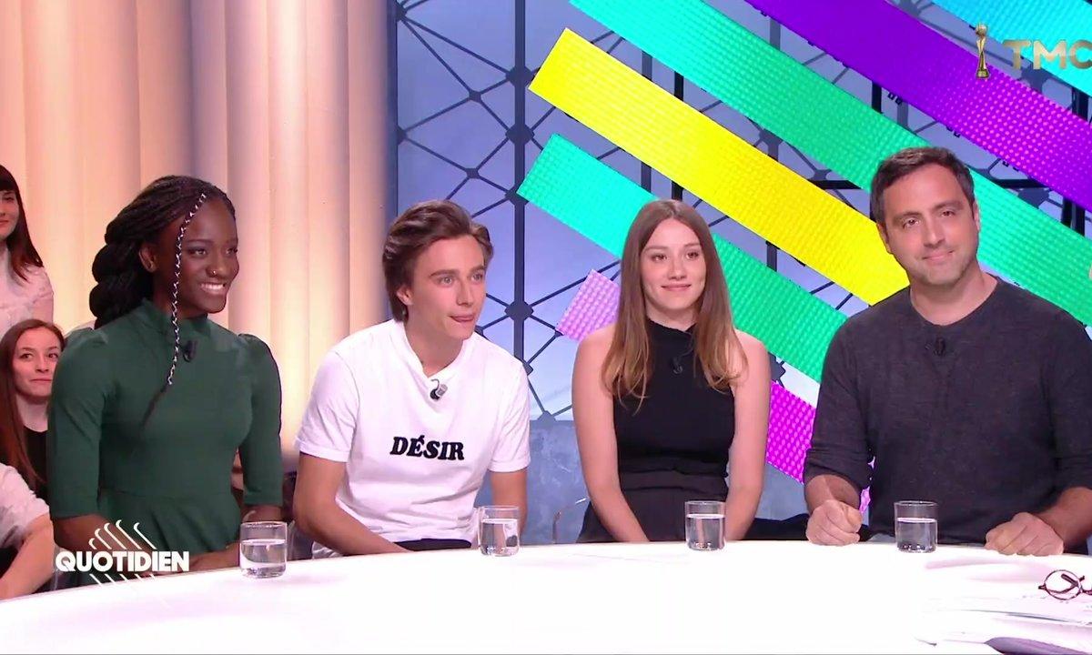 Invités : le phénomène Skam avec Axel Auriant, Assa Sylla, Philippine Stindel et David Hourrègue